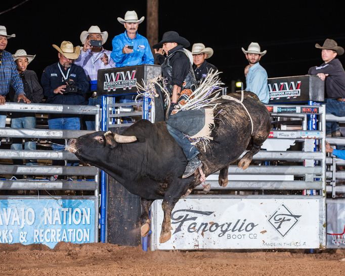Indian Champion bull rider Cody Jesus Qualifies for first pro World Finals