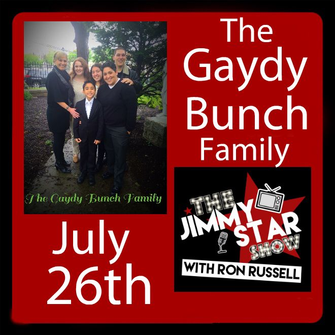 The Gaydy Bunch Family On The Jimmy Star Show With Ron Russell