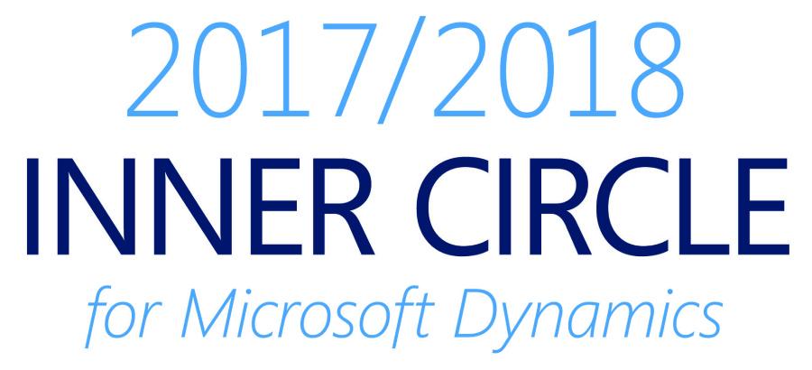 Microsoft Inner Circle 2017/2018