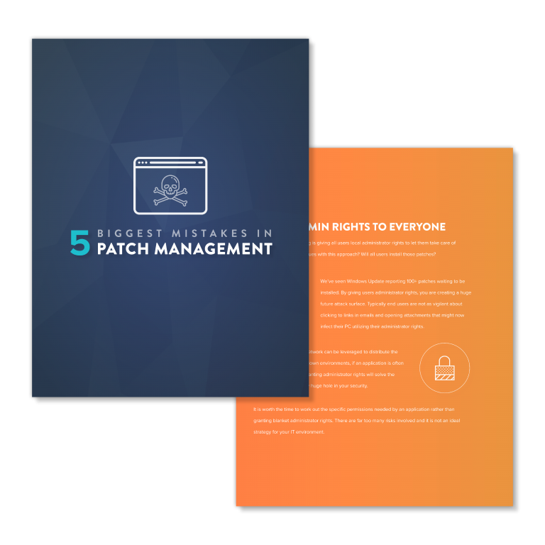 Patch Management Mistakes Whitepaper