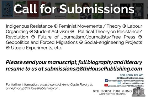 8th House Publishing - Call for Submissions