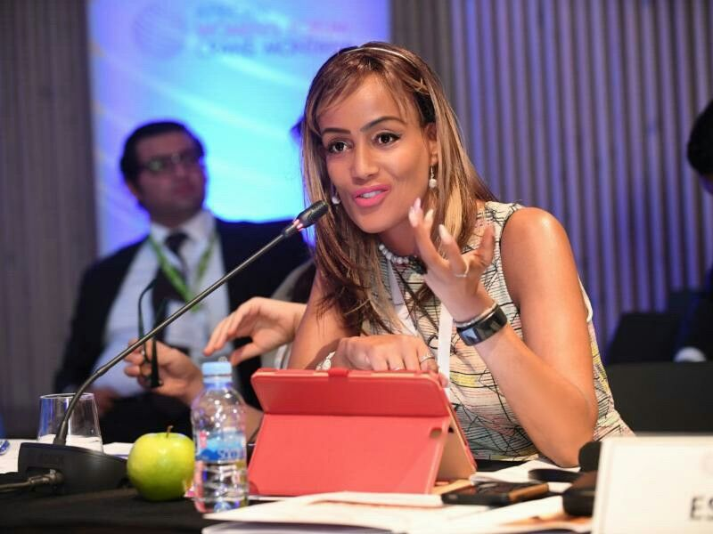 DCA  Founder and CEO Sophia Bekele Speaking at Crans Montana Forum