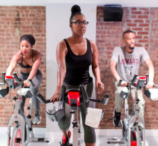 Soulful workout at Harlem Cycle, NYC