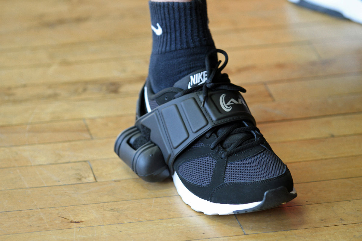 Ankle Roll Guard Prevents Sprains