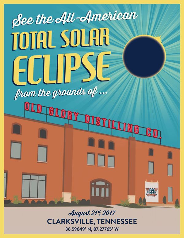 Old Glory Distilling Compan Hosts All-American Total Solar Eclipse Party