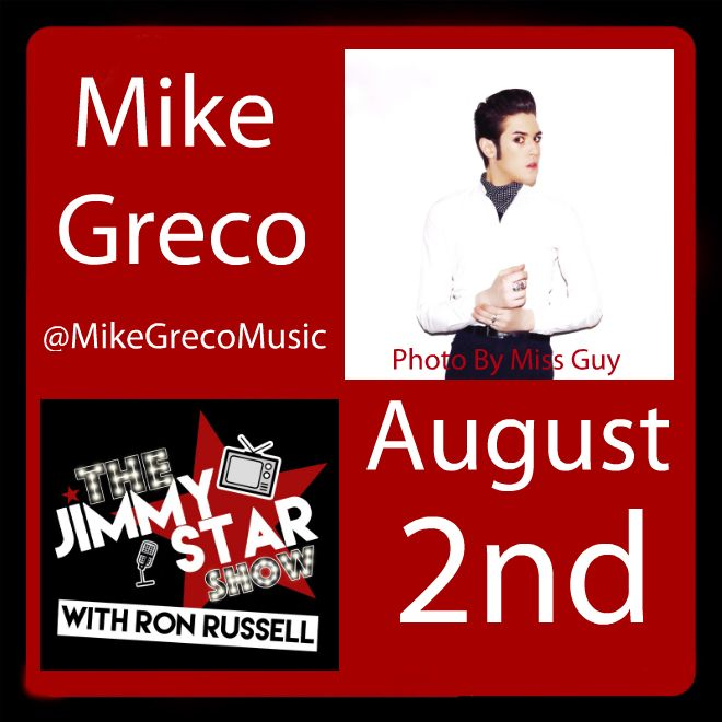Mike Greco on The Jimmy Star Show With Ron Russell