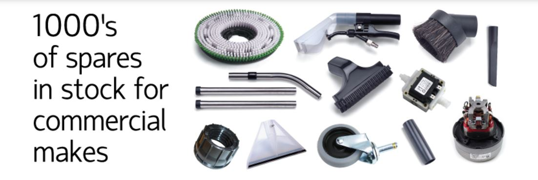 Choose from an extensive range of commercial vacuum cleaner spares