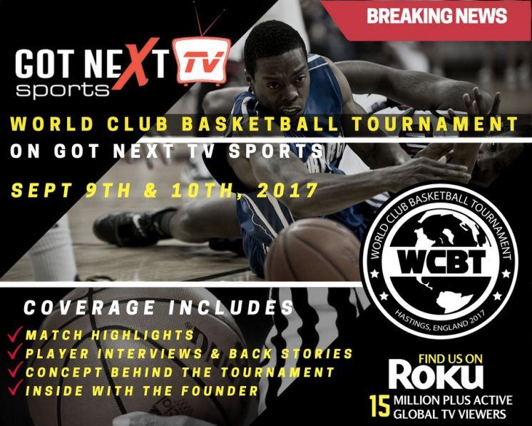 Got Next TV Sports Signs Deal with World Club Basketball Tournament
