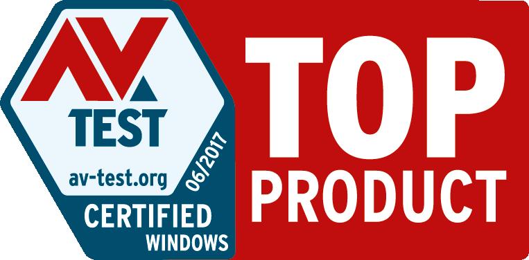 AV-Test Certificate
