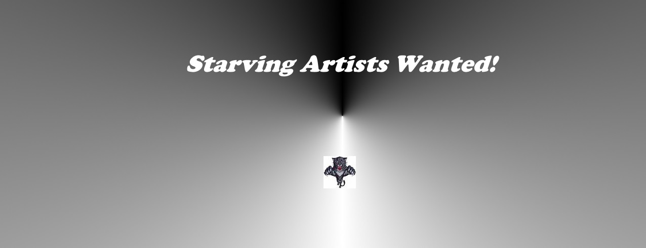 Starving Artists Wanted