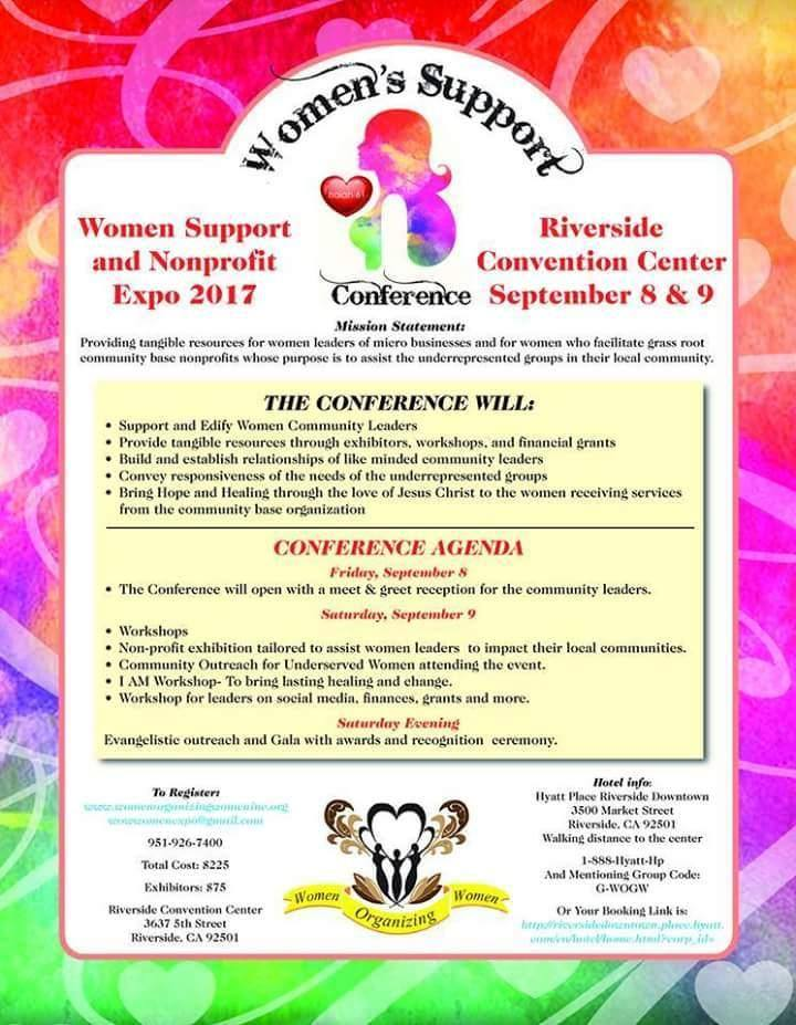 Women Support Conference and Nonprofit Expo