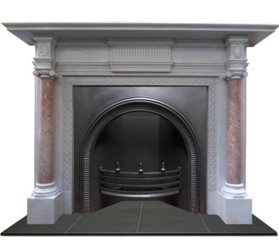 How To Choose And Identify An Antique Fireplace: victorian fireplace restoration