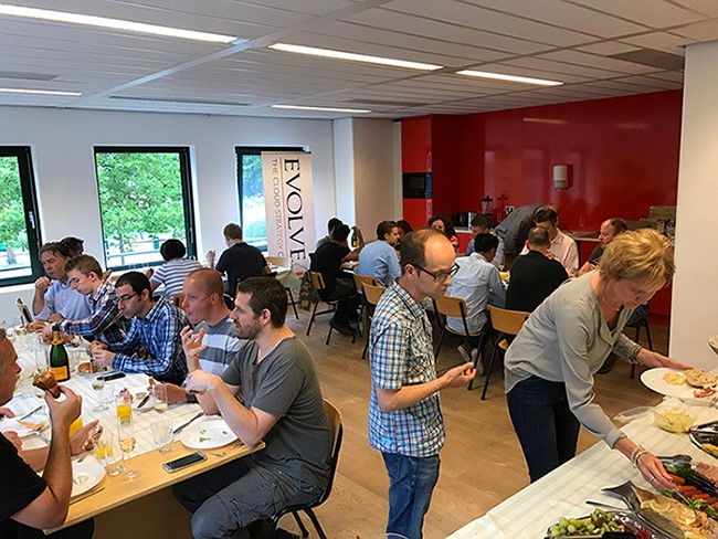 Mtel associates celebrate joining Evolve IP