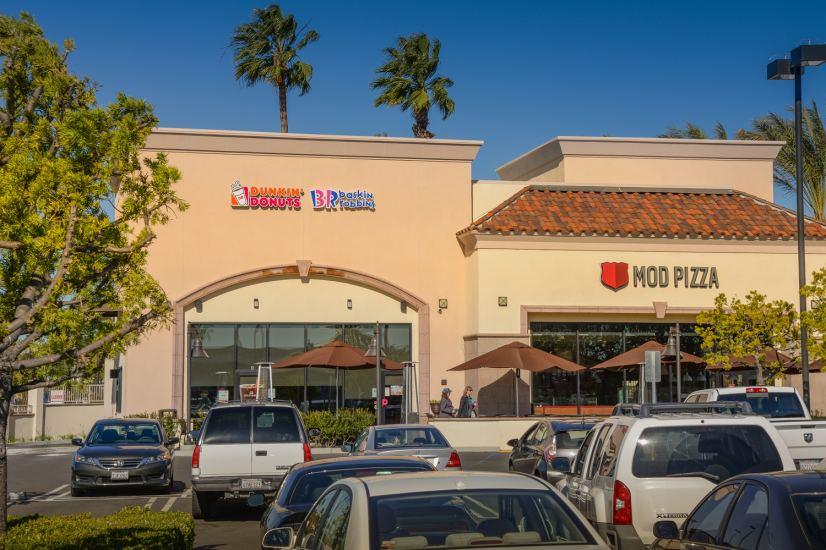 Dunkin' Donuts/Baskin Robbins Drive-Thru and MOD Pizza at Foothill Ranch, CA