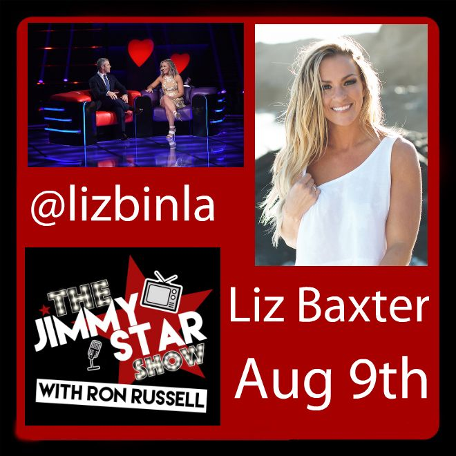 Liz Baxter On The Jimmy Star Show With Ron Russell