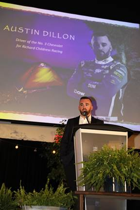 Austin Dillon speaking