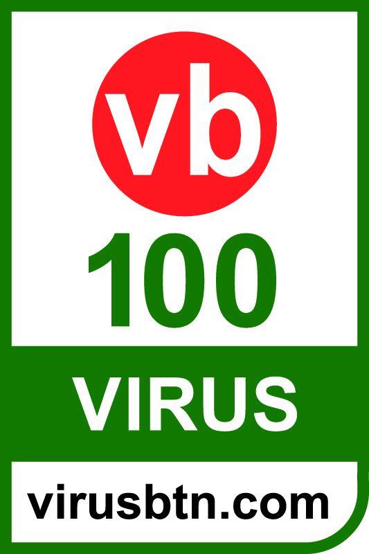 VB100 certificate