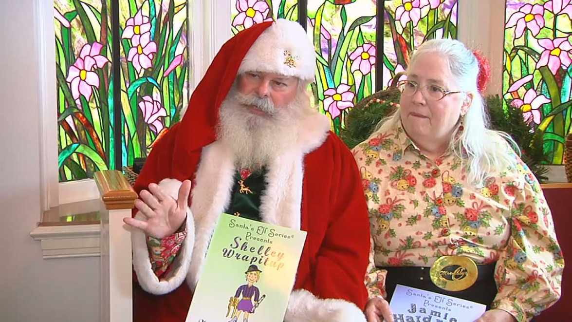 Joe and Mary Moore, the Christmas Author and Christmas Illustrator