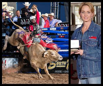 Bucking Bull of the Year Pays Tribute to late owner