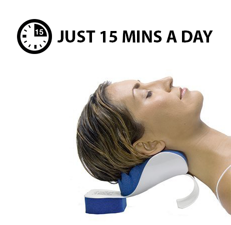 CHISOFT neck stretcher - say goodbye to neck pain in minutes