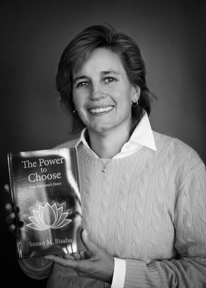 """Susan M. Bisaha, Author """"The Power To Choose: One Survivor's Story"""""""