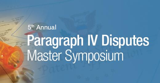 Paragraph IV Disputes Master Symposium