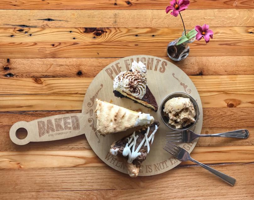 The Baked Pie Company - Pie Flight