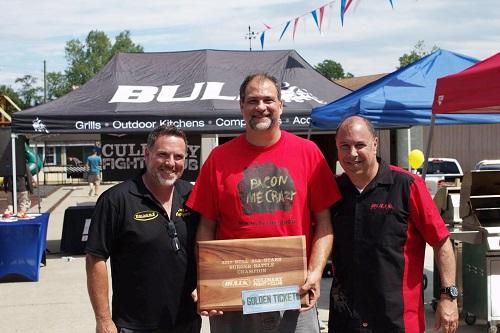 Scott Honigsberg Best in Back Yards CEO, Doug Keiles, Mark Nureddine Bull CEO