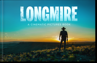 """Longmire"" Coffee Table Book Launches. Buy today!"