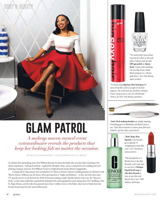 Tori Williams for Modern Luxury's Jezebel Magazine