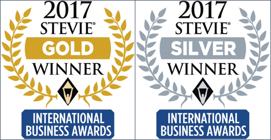 Gold in Company of the Year and Silver in Woman of the Year Categories