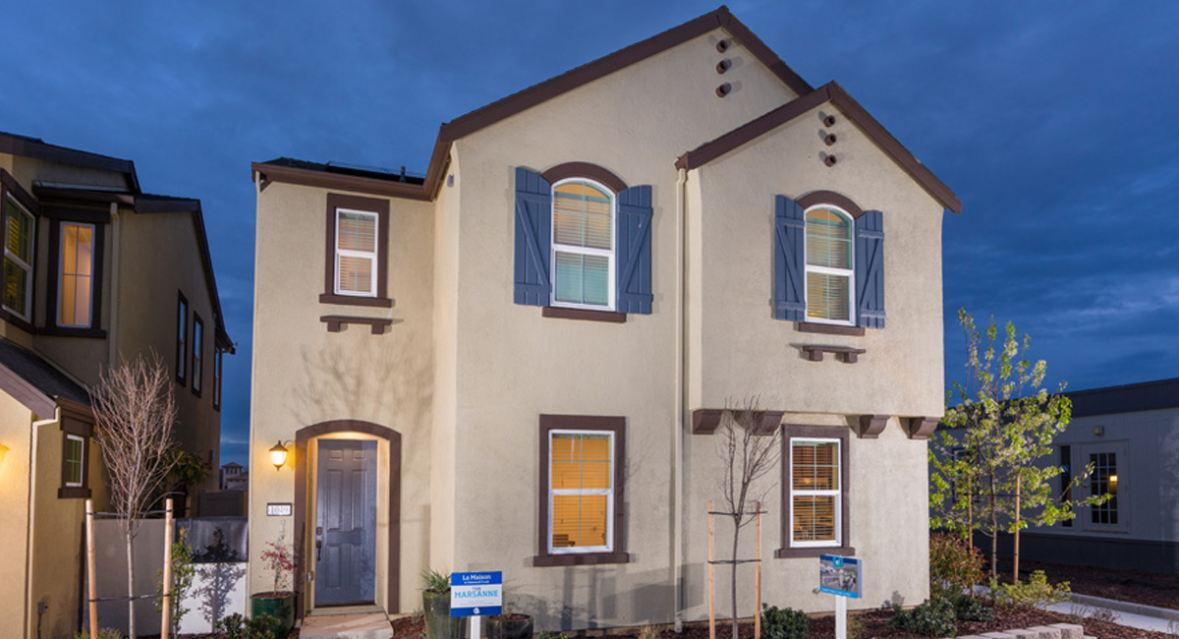 The Marsanne plan is available for quick move-in at Lennar's La Maison community