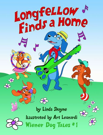 LONGFELLOW FINDS A HOME, a new book by Linda Shayne, illustrated by Art Leonardi