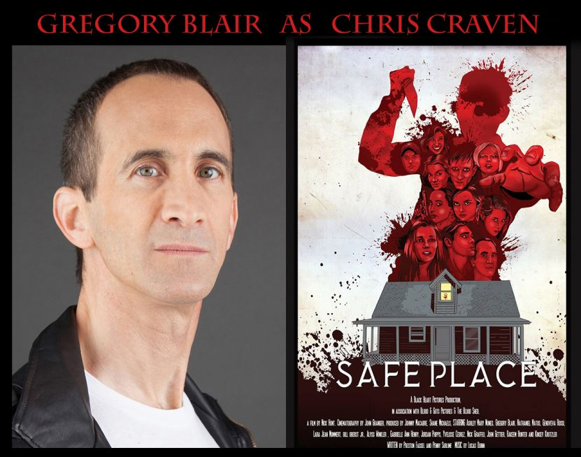 "Gregory Blair in ""Safe Place"""