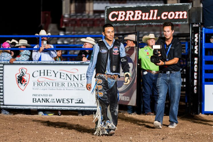 Navajo bull rider Cody Jesus Joins Tuff Hedeman at CBR Window Rock