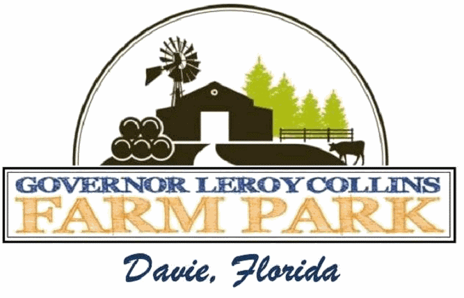 The Gov. Leroy Collins Farm Park is a mini urban working farm in Davie, Florida.