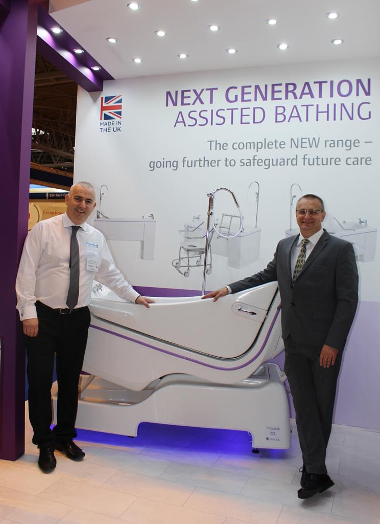 Gainsborough to showcase operationally efficient baths at the Care Show