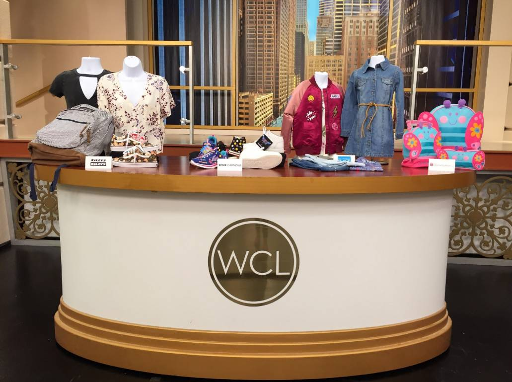 GiftsForYouNow's Back to School collection featured on the Windy City Live stage