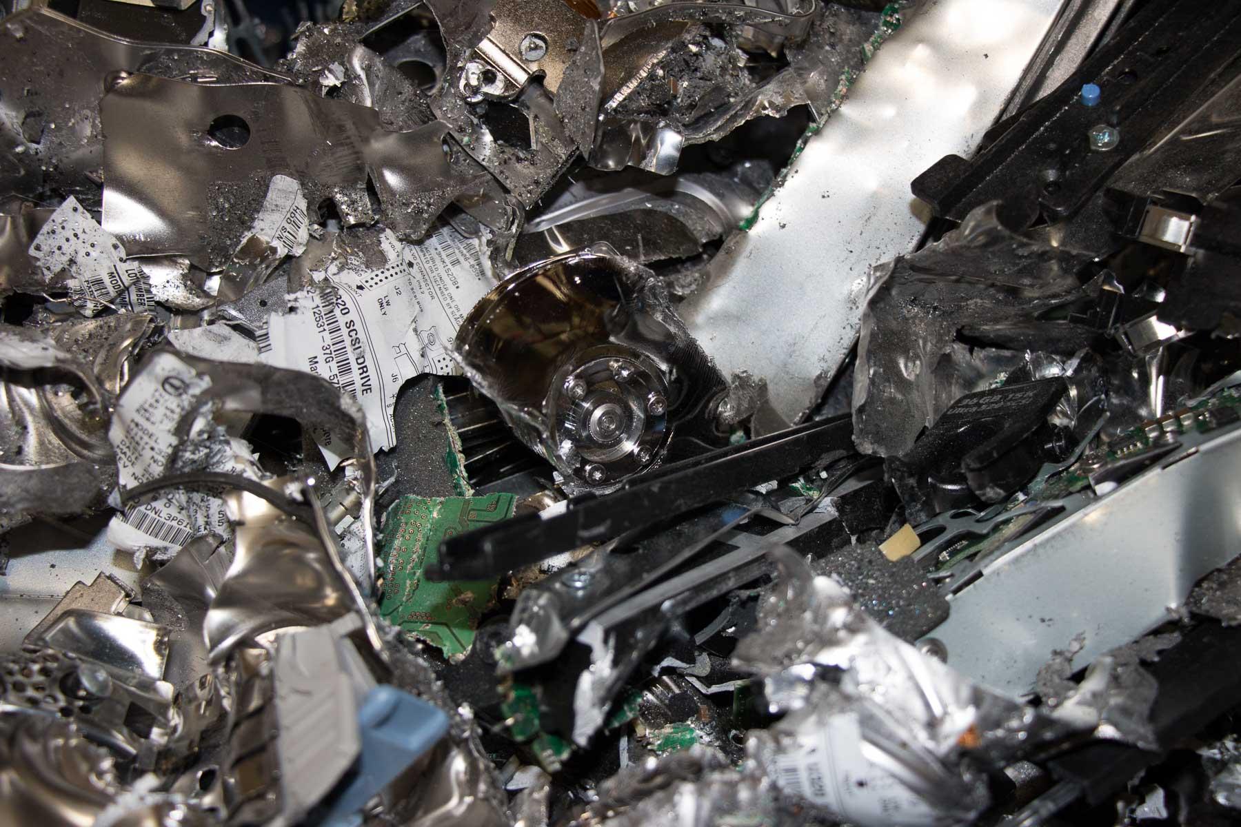 Commercial Records Center media destruction in El Paso