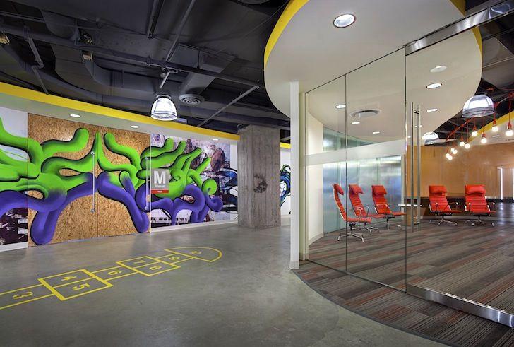 Construction DesignWorks interior tenant finish