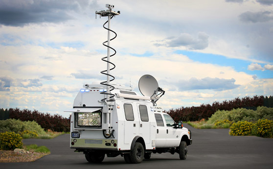 The Nomad TCV (Tactical Command Vehicle)