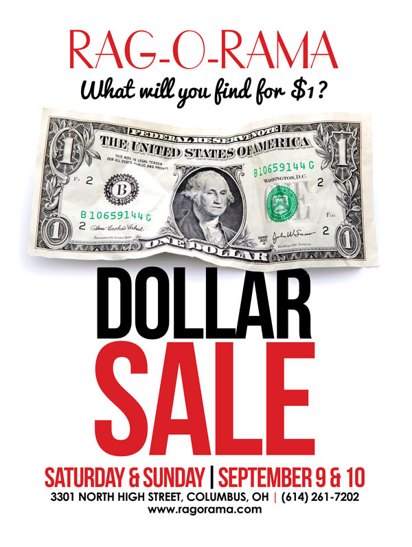 September Dollar Sale Flyer