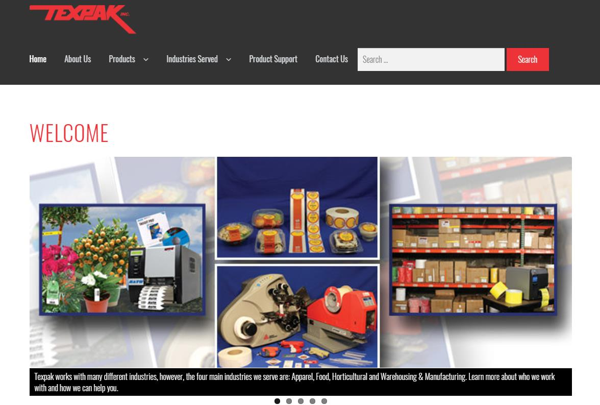 Texpak Launches New Website