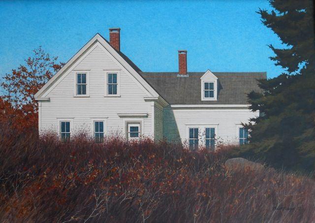"Randy Eckard ~ ""Almost October"" ~ Watercolor on Paper 15"" x 21"""
