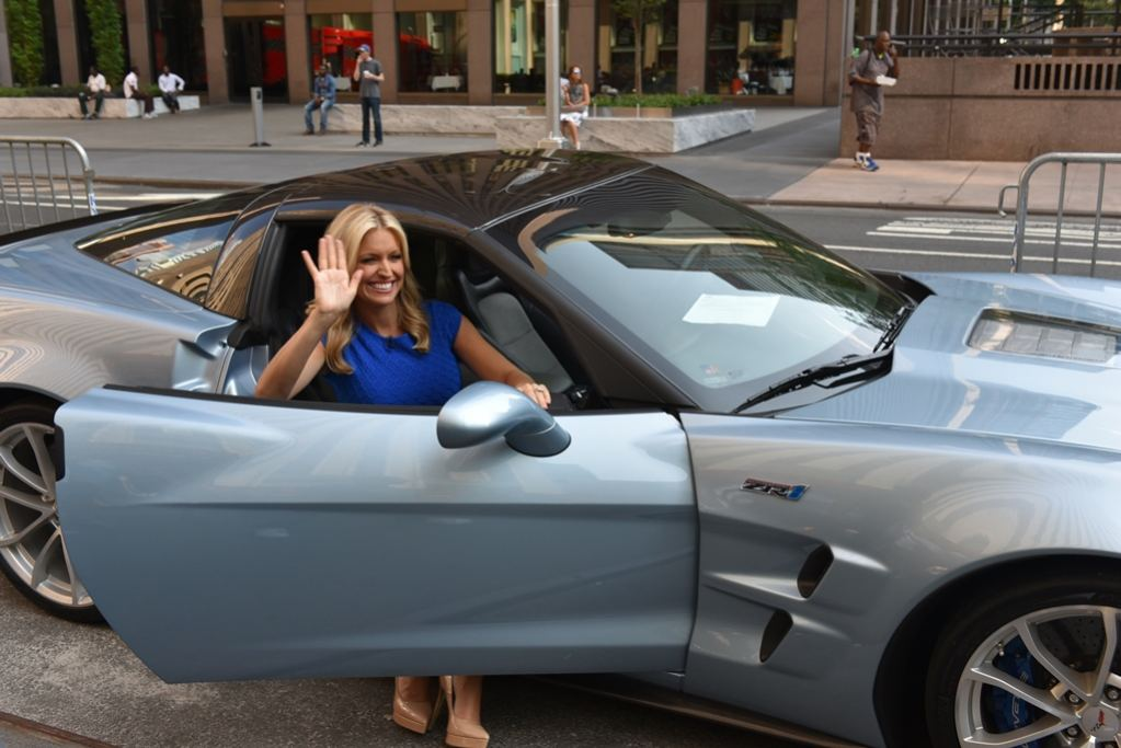 Foto do carro de Ainsley Earhardt