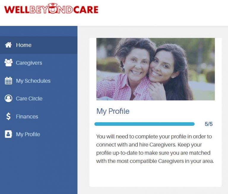 Well Beyond Care website