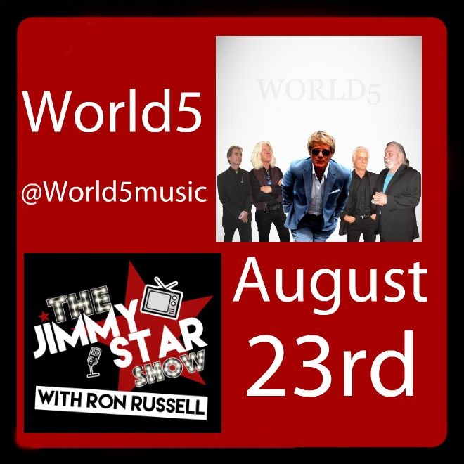 World5 On The Jimmy Star Show With Ron Russell