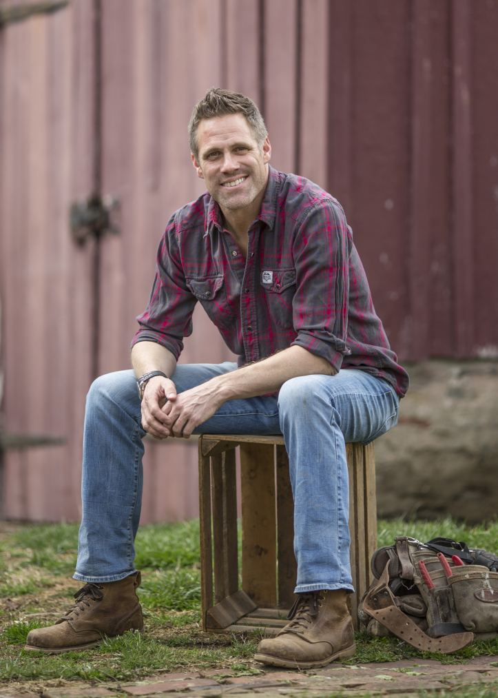 Jeff Devlin, licensed contractor and host of DIY Network's Stone House Revival