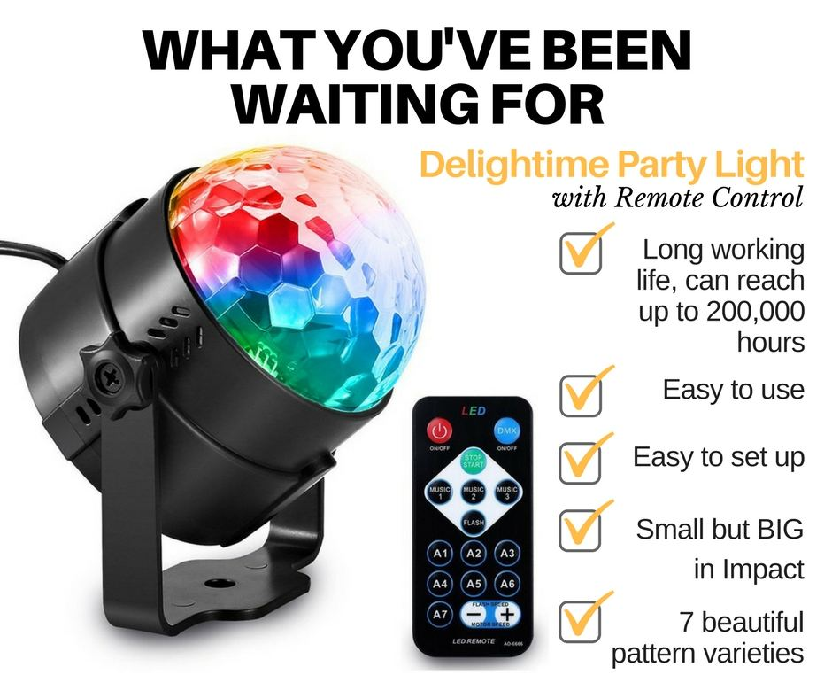 Get your Delightime Strobe Lights on Amazon now!