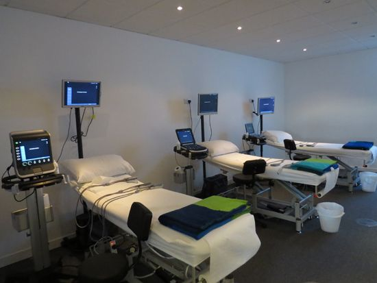 Demonstration and workshop facilities at the SonoSite education centre